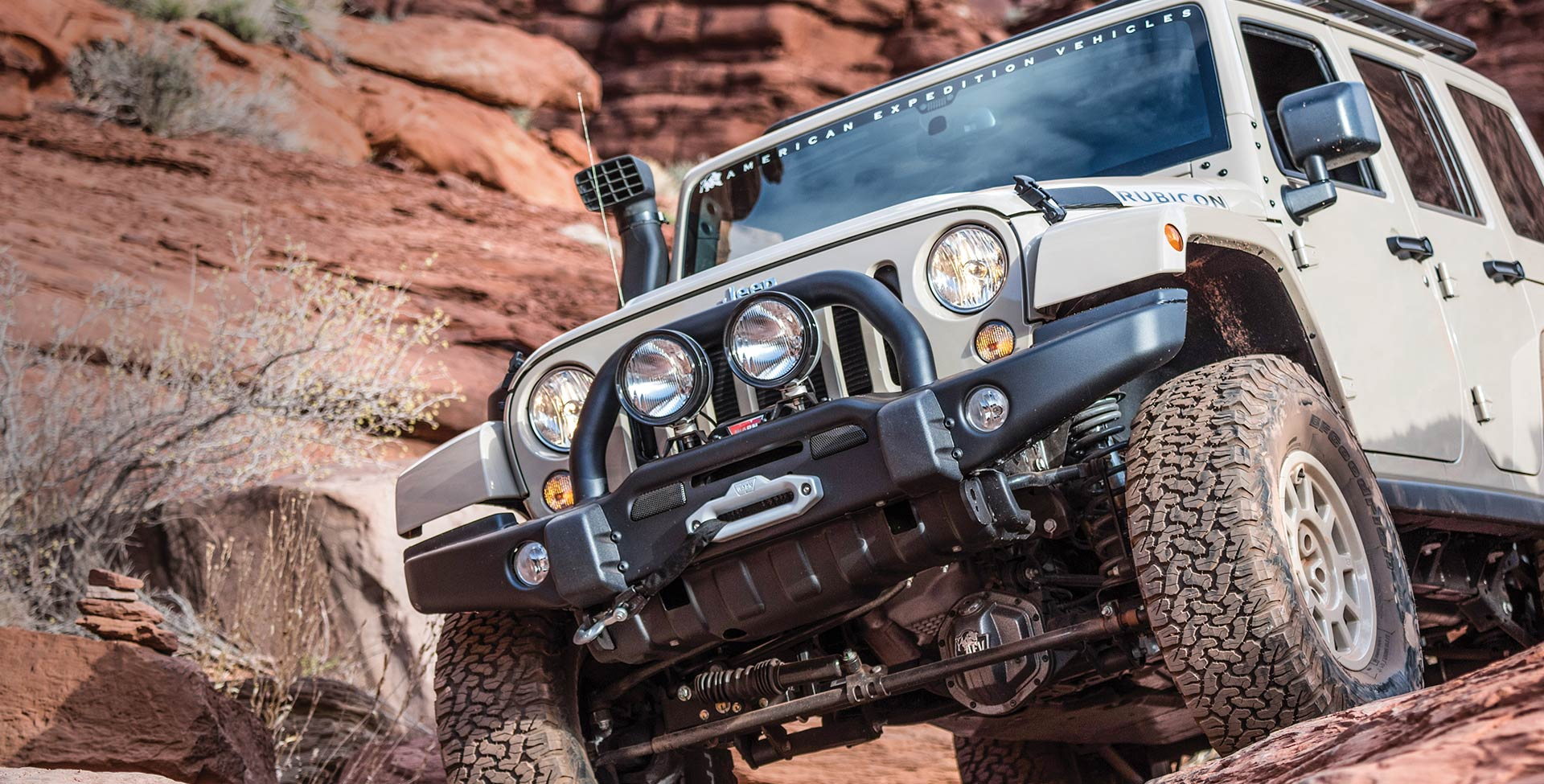 Bumpers Accessories Products American Expedition Vehicles Aev Jeep Wrangler Front Suspension Diagram Jk Skid Plate On