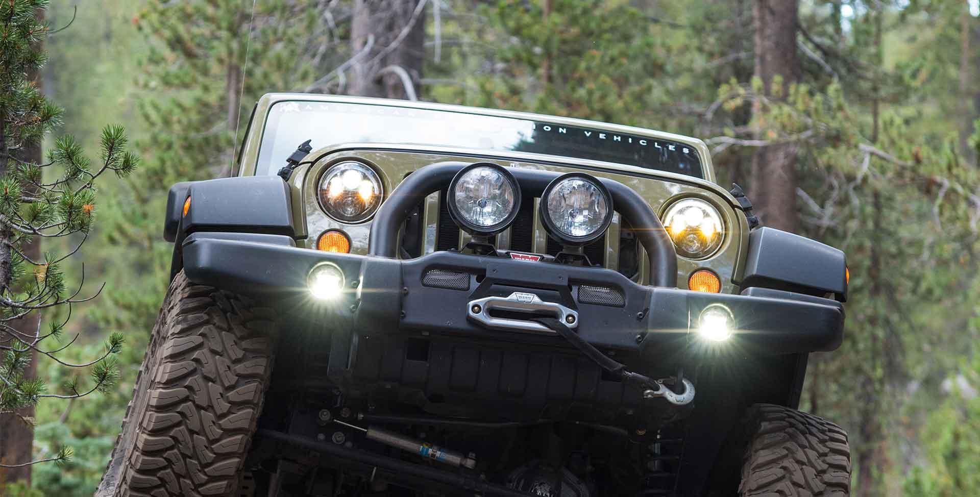 Wrangler Jk Hilift Pull Pal Mount American Expedition Vehicles Jeep Premium Front Bumper