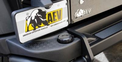 AEV Rear Bumper Replacement Black Cap