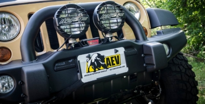 Hawse Fairlead License Plate Mounting Kit 3