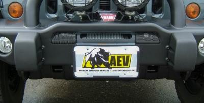 Roller Fairlead License Plate Mounting Kit 2