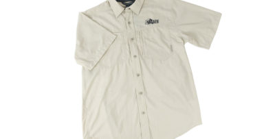 AEV GeoTrek'r Short Sleeve Field Shirt by Exofficio - Bone
