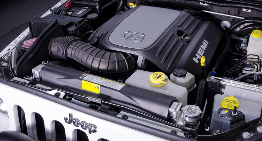 AEV Hemi V8 conversion for Jeep Wrangler JK