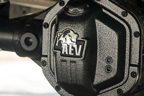 AEV Differential Cover installed on Jeep Wrangler JK