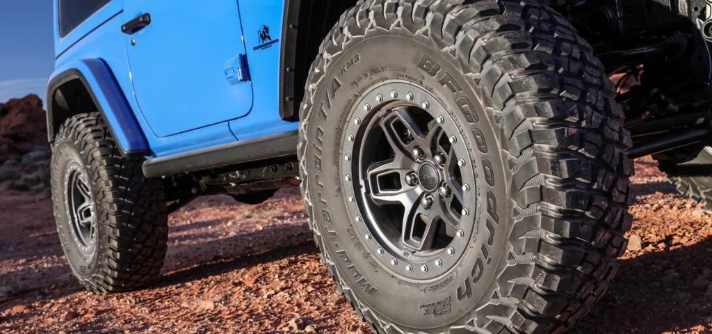 Jeep JL wheel - JL Borah Wheel