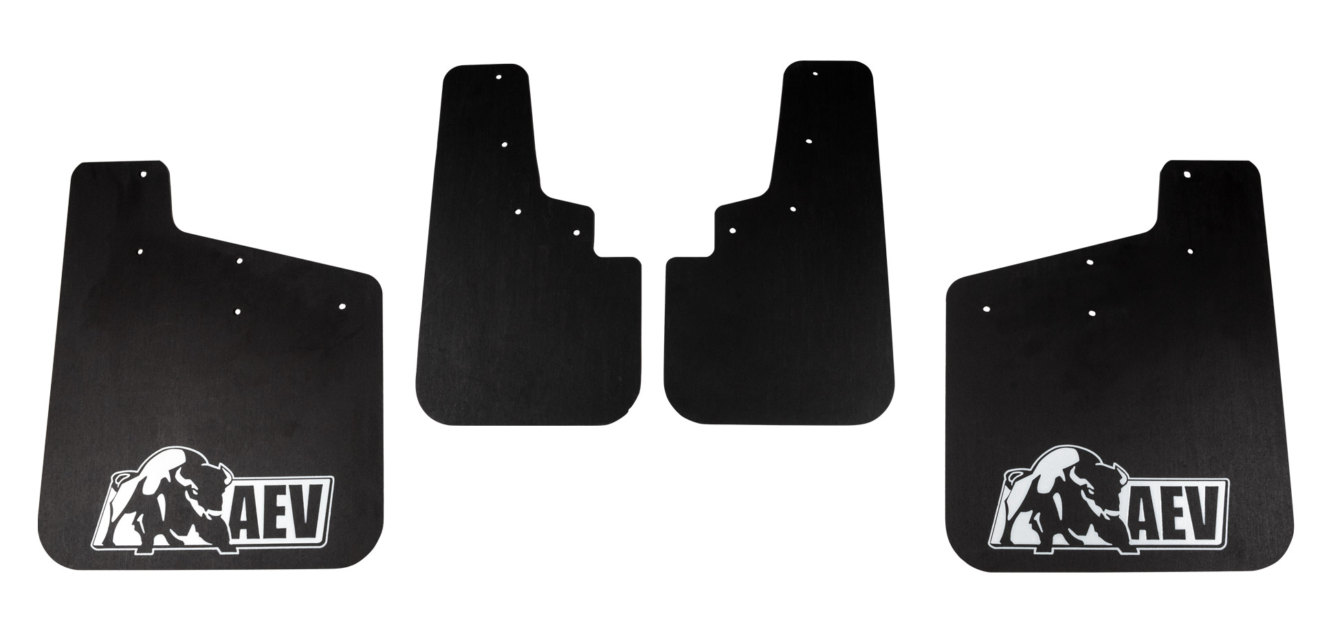 Colorado Splash Guard Set - Front & Rear